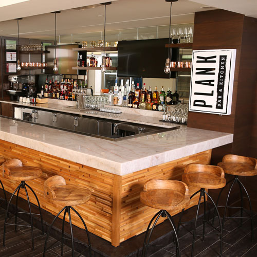 Plank Bar And Kitchen At Hotel Indigo